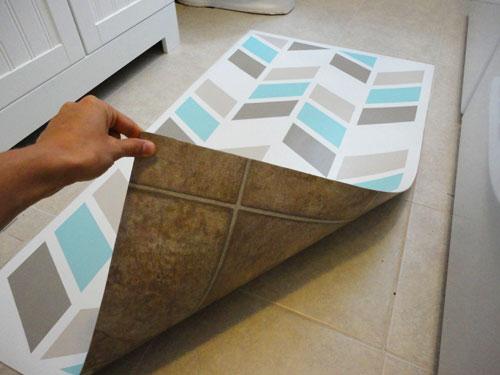 Herringbone Inspired Mat Design Jennspiration